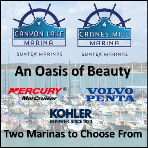 Canyon Lake Marina Cranes Mill Marina